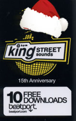 King St 15 Years Celebration promo