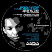 Andrea Carissimi feat. Orlando Johnson - Lose My Mind [Just4Funk]