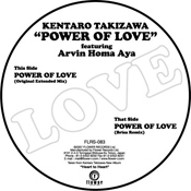 Kentaro Takizawa feat. Arvin Homa Aya - Power Of Love [Flower Records]