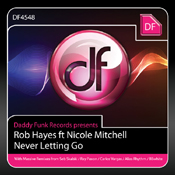 Rob Hayes ft. Nicole Mitchell - Never Letting Go [daddy funk]