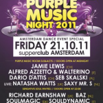 Purple Music Night at Supperclub (ADE 2011)