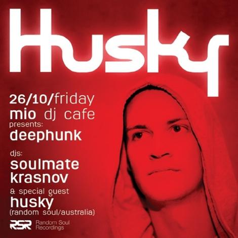Husky (Random Soul) @ Mio DJ Cafe Moscow (26 октября 2012)